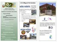 Oferta educativa IES Miguel Hernández